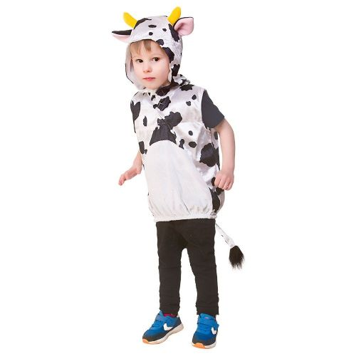 Childrens Child Tabard - Cow Costume Unisex Fancy Dress